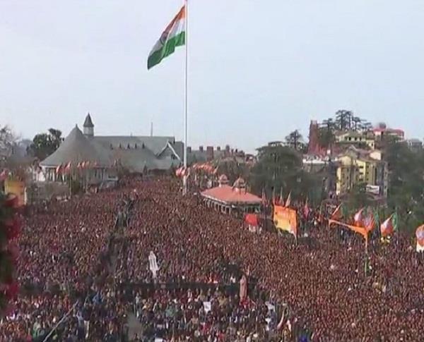 रिज मैदान पर दो मंत्रियों ने ली संस्कृत में शपथ