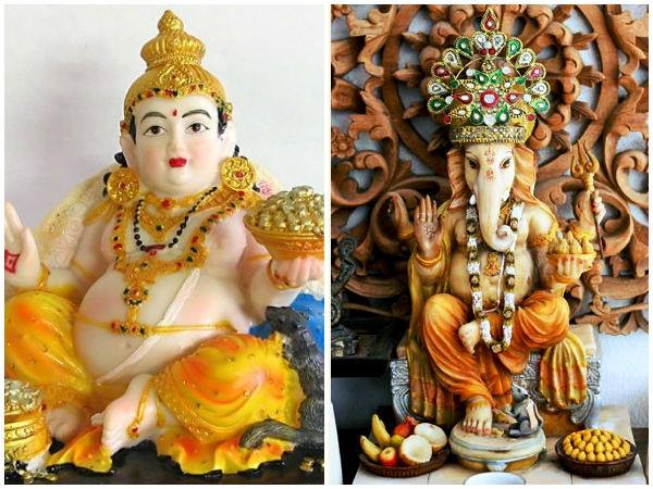 कुबेर देवी पार्वती पर हुए मोहित, गजानन ने रोका पापों का नग्र नृत्य