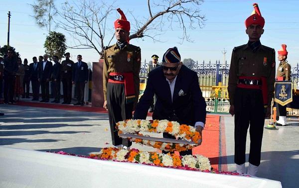 नौजवान सेना में भर्ती होकर देश की सेवा के लिए आगे आएं : वी.पी. सिंह बदनौर