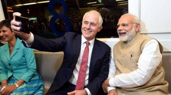 ऑस्ट्रेलियाई PM ने मोदी संग बनाया VIDEO किया शेयर