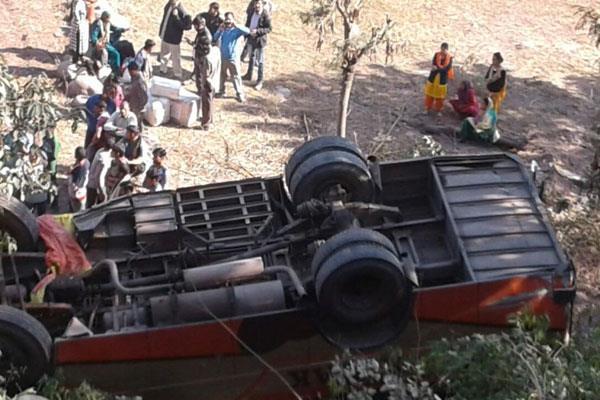 जम्मू में दो सडक़ दुर्घटनाएं , 23 घायल