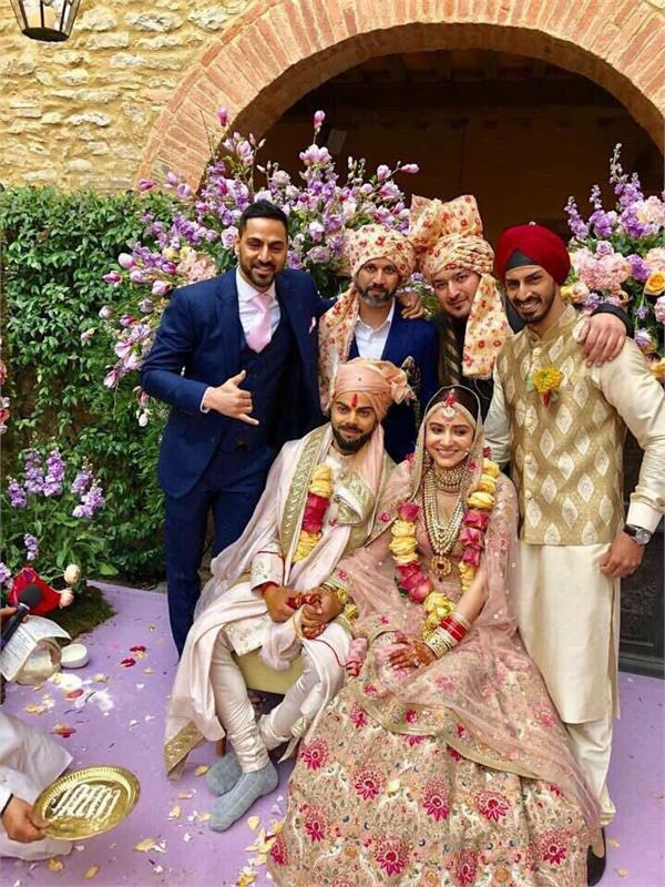 punjabi stars wish virat anushka happy married life