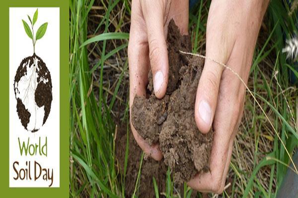 साम्बा में कृषि विज्ञान केंद्र ने मनाया world soil day