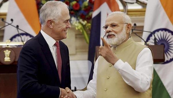 भारत-आस्ट्रेलिया के बीच  '2 प्लस 2 वार्ता' शुरू