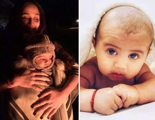soumya seth share her son pictures