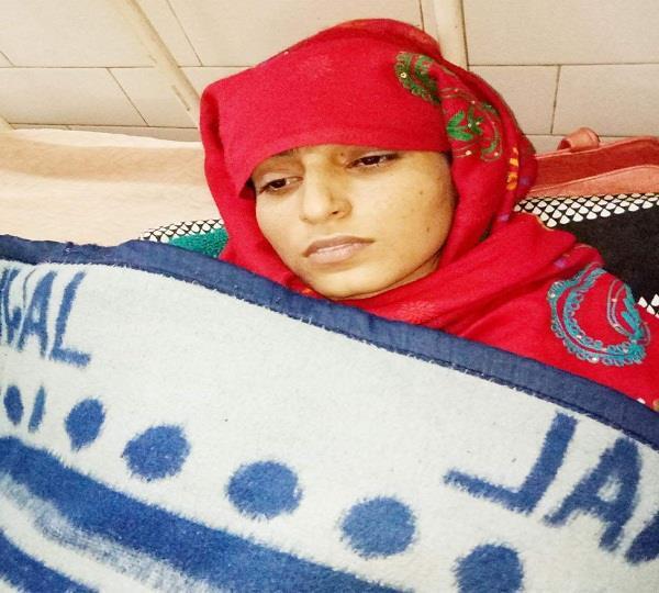 ससुरालियों ने बहू को बेरहमी से पीट पहुंचाया अस्पताल