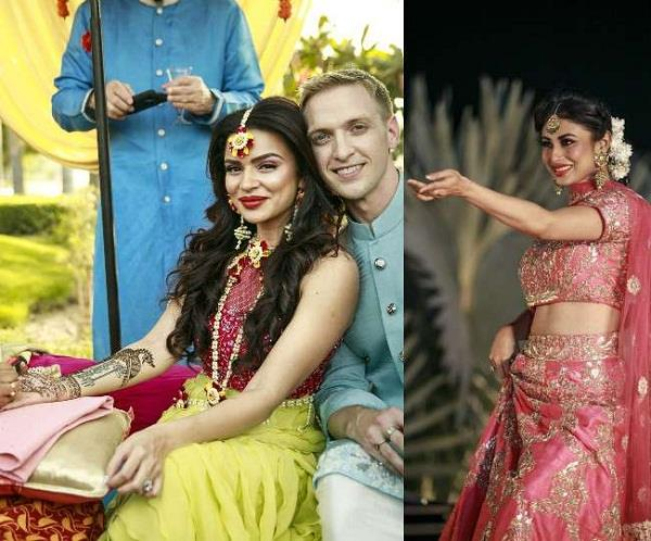 aashka goradia brent goble mehendi and sangeet