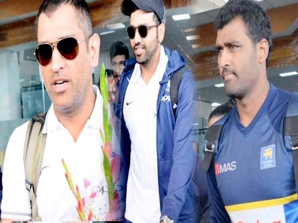 देखिए तस्वीरें : वनडे मैच को धर्मशाला पहुंचीं भारत-श्रीलंका की टीमें