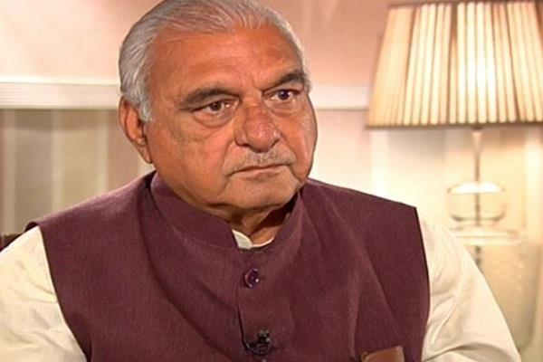 विदेश जाना अच्छा लेकिन निवेश लेकर ही लौटे मुख्यमंत्री: भूपेंद्र हुड्डा