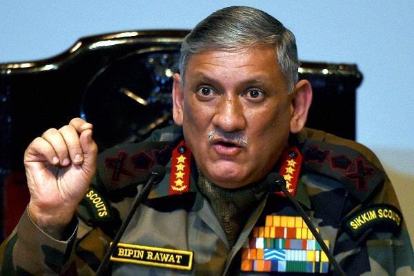 सेना प्रमुख ने कहा: सेना को राजनीति से अलग रखा जाना चाहिए