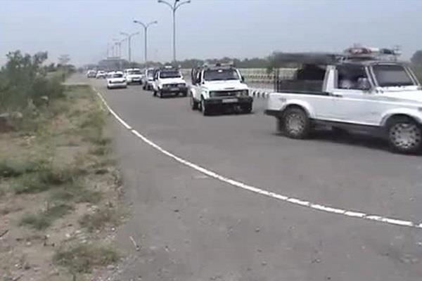 पंजाब के मुख्यमंत्री की सुरक्षा में चूक, 4 पुलिसकर्मी निलंबित