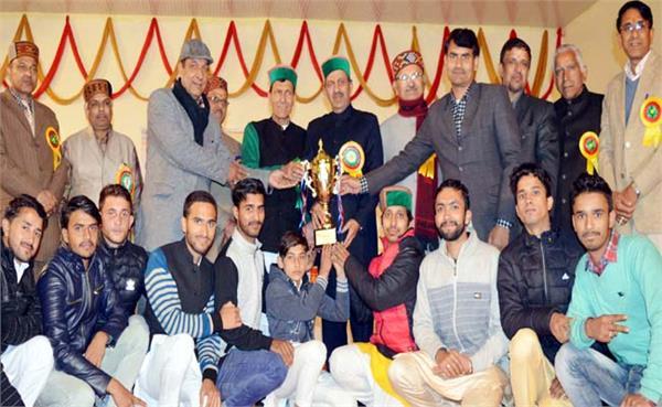 सांस्कृतिक प्रतियोगिता में नयनादेवी संस्कृत कालेज ने मारी बाजी, मिला यह खिताब