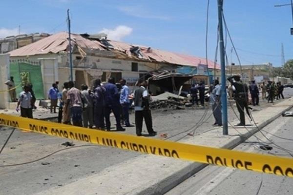 सोमालिया में आत्मघाती हमला, 17 पुलिस अधिकारियों की मौत