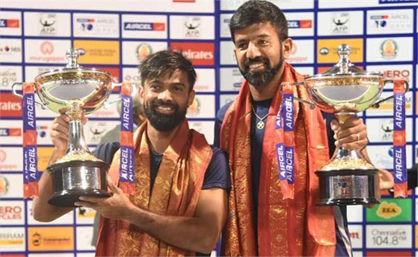 बोपन्ना-जीवन ने चेन्नई ओपन का युगल खिताब जीता