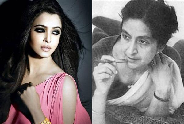 aishwarya rai will play the role of amrita pritam