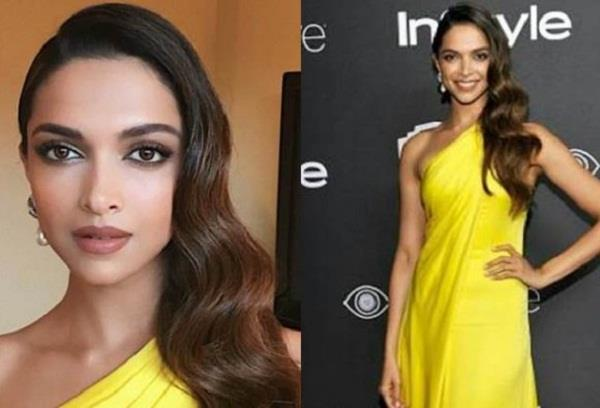 golden globe awards 2017 deepika padukone looks ravishing in ralph lauren