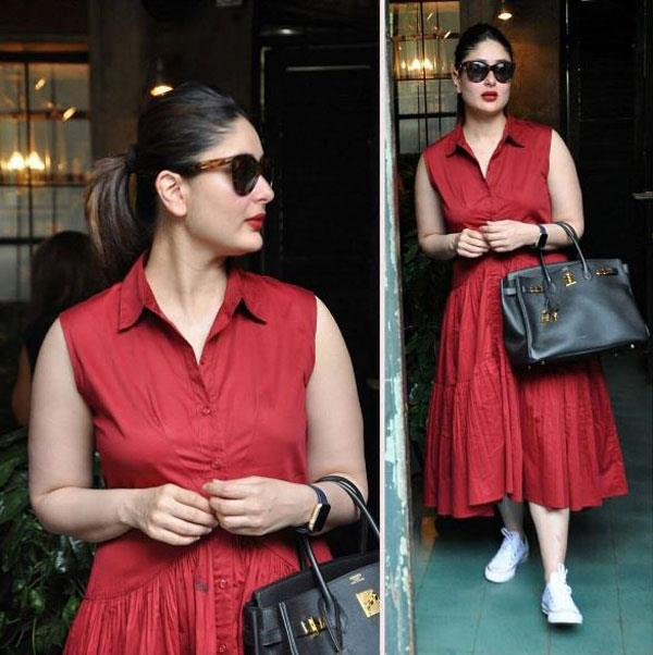 kareena kapoor enjoyed lunch with her friends