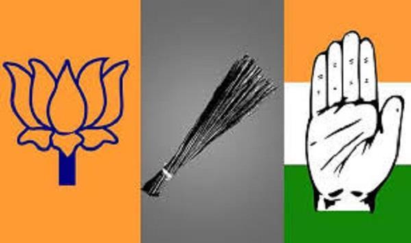 सत्ता के खेल में भाजपा की भूमिका, 'आप' भी मैदान में; कांग्रेस लेती रही फायदा-पढ़े रोचक तथ्य