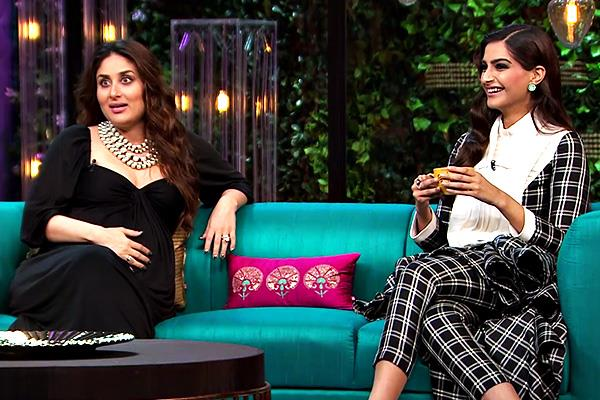 kareena and sonam in koffee with karan