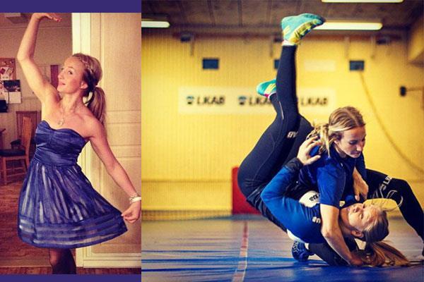 Pics: खेल से ज्यादा अपनी खूबसूरती की वजह से सुर्खियां में हैं ये रेसलर