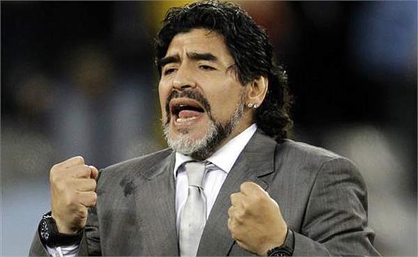 माराडोना ने विश्व कप में 48 टीमों का किया समर्थन