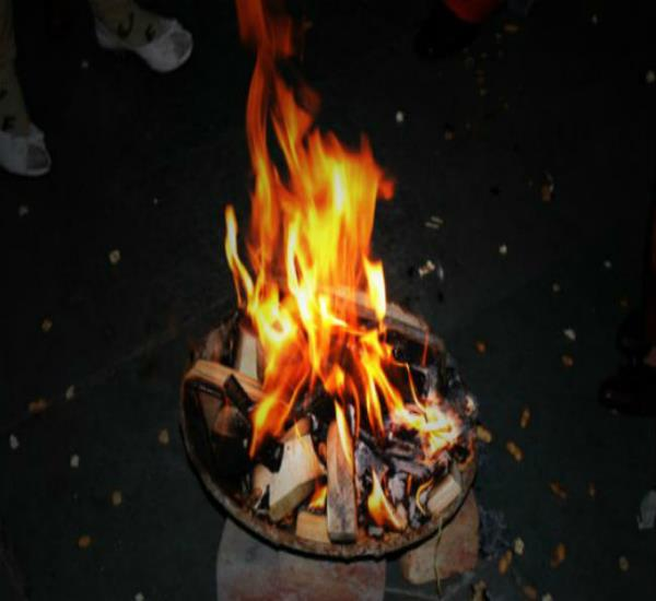 कैंट में रोड पर लोहड़ी जलाने पर पाबंदी