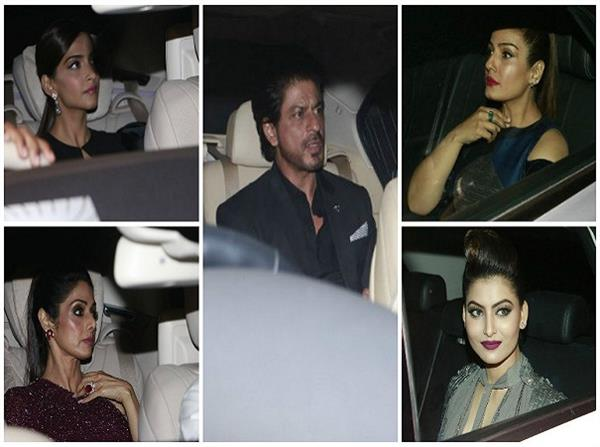 shah rukh khan and many more at filmfare pre awards bash