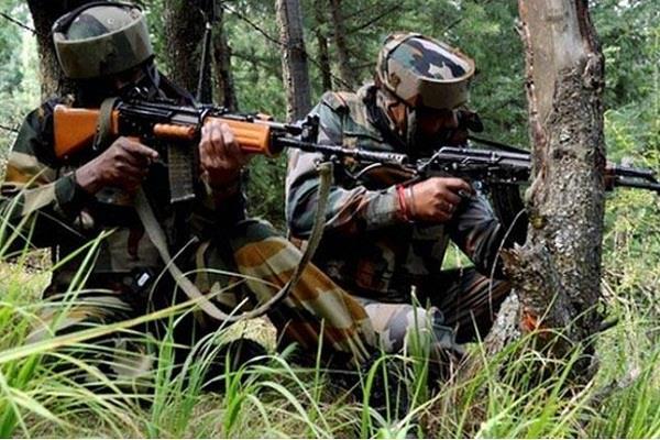 जम्मू कश्मीर में सेना ने मार गिराए दो आतंकी