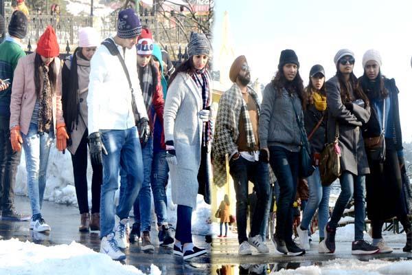 शिमला में यह दिन 6 साल का सबसे ठंडा दिन रिकार्ड