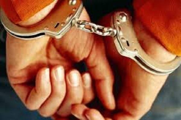 ठगी कर पत्नी के लिए खरीदे गहने, गिरफ्तार