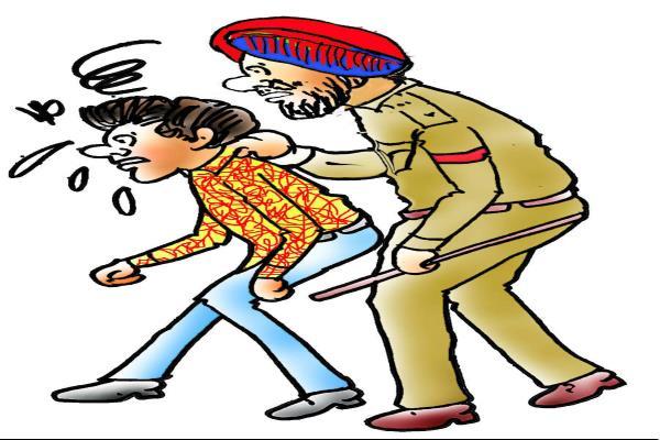 दड़े-सट्टे के आरोप में 2 गिरफ्तार