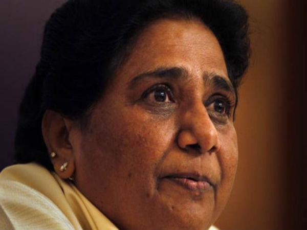 आरक्षण खत्म कर देगी केंद्र सरकार: मायावती