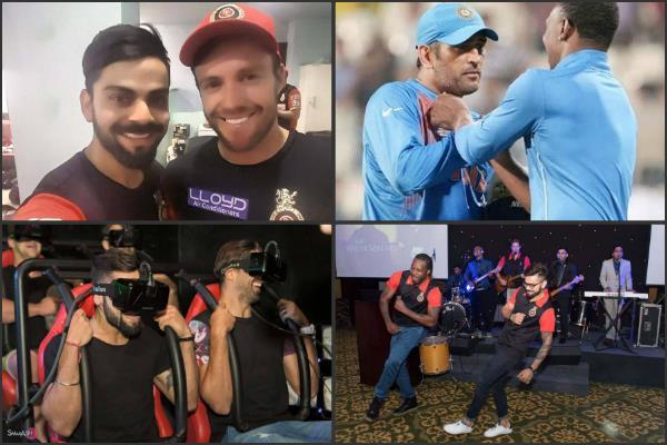 Pics: मैदान से बाहर ऐसा है इन क्रिकेटर्स का दोस्ताना