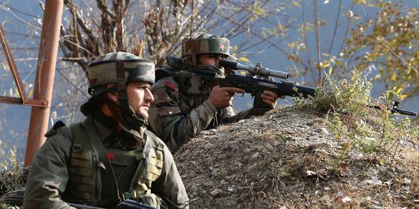 जम्मू कश्मीर में सेना ने ढेर किए दो आतंकी