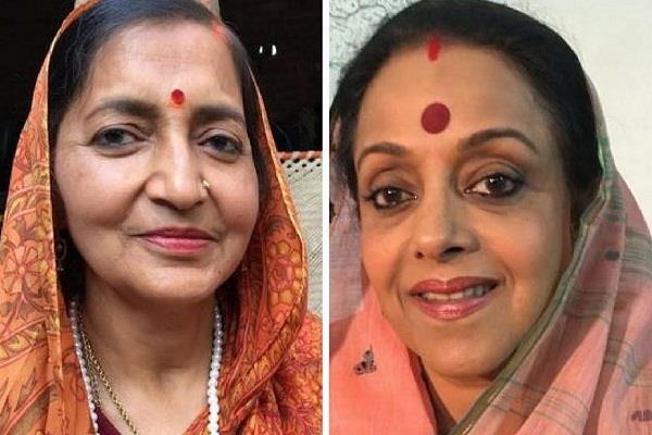 अमेठी में कांग्रेस के गढ़ को हिला सकती हैं 'बीजेपी की रानी'