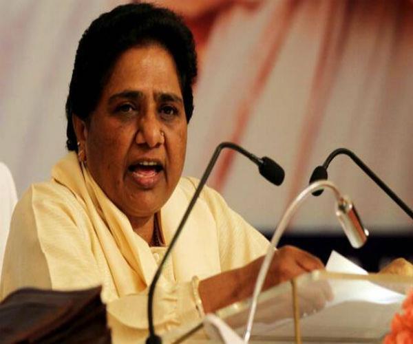 भाजपा ने यूपी के पिछड़ों और ब्राहमणों के साथ किया विश्वासघात: मायावती