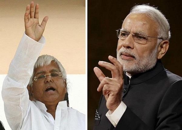 लालू का PM मोदी पर वार, कहा-बौखलाहट में कर रहे बेतुकी बयानबाजी