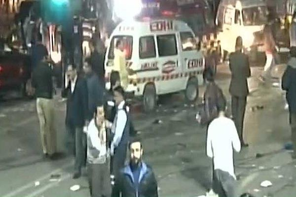 लाहौर आत्मघाती हमले का षडयंत्रकारी गिरफ्तार