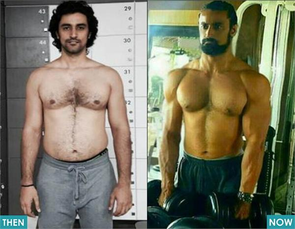 kunal kapoor shows his body transformation on social media