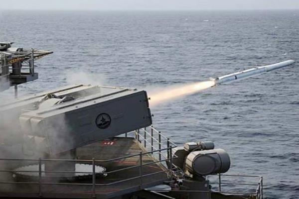 पाकिस्तान में जमीन से समुद्र में मार करने वाली मिसाइल का सफल परीक्षण