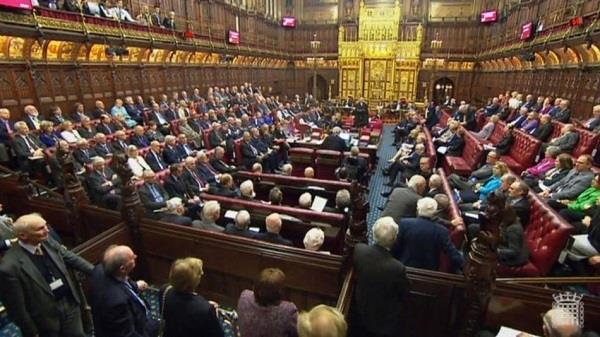 ब्रिटेन संसद में ब्रेग्जिट विधेयक पारित