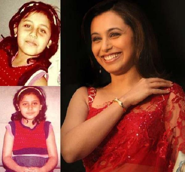 rani mukerji childhood pics