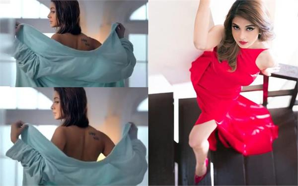 jennifer winget bares her back for beyhadh teaser