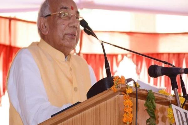 'भारत एक-भारतीय एक ' का मूलमंत्र अपनाने की आवश्यकता : सोलंकी