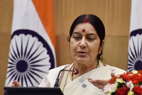 अमरीका जाने वाले भारतीयों के लिए कोई अडवाइजरी जारी नहींः सुषमा स्वराज
