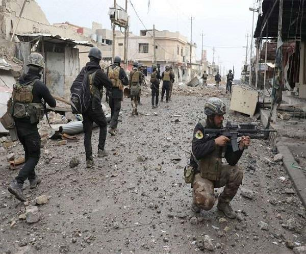 मोसुल में भीषण जंग, ISIS के 6  नेता ढेर