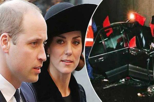 डायना की मृत्यु के 20 साल बाद पेरिस दौरे पर शाही दंपति