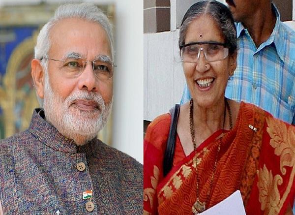 PM माेदी की पत्नी जशोदाबेन की सादगी ने जीता लाेगाें का दिल!(Pics)