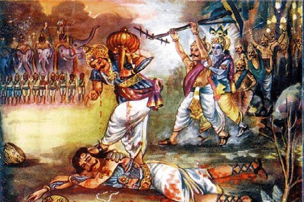 श्री कृष्ण ने दिया भीम को संकेत, तभी दुर्योधन हो गया ढेर