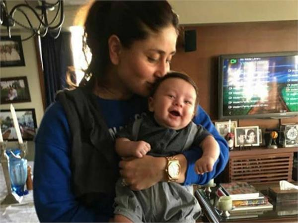 bollywood kareena kapoor khan and baby taimurs photo viral